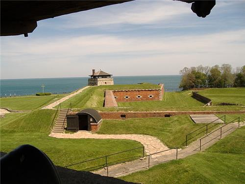 Old Fort Niagara view from watch tower